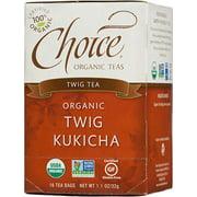 Organic Kukicha Twig Tea Choice Organic Teas 16 Bag