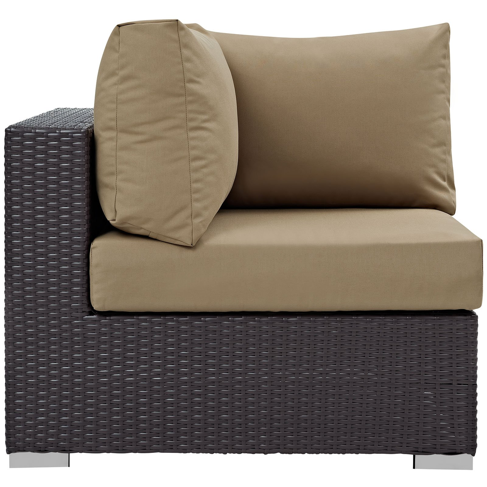 Modway Convene Outdoor Patio Corner, Multiple Colors