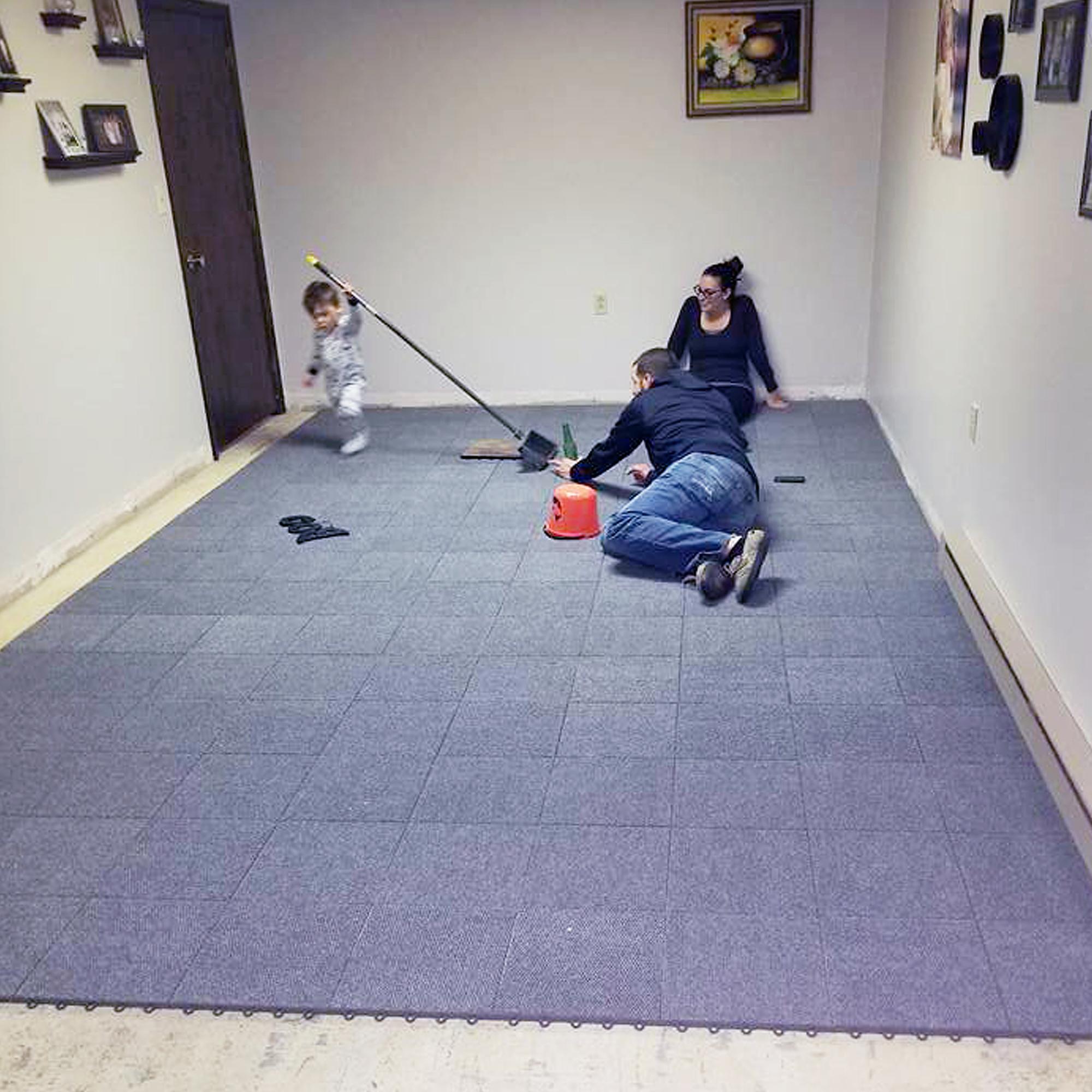 Greatmats Raised Carpet Tile Snap