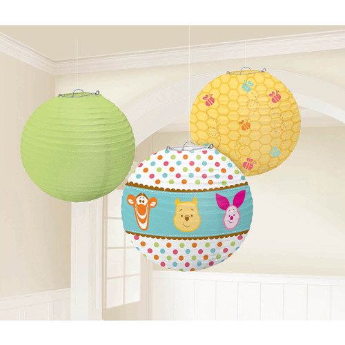 Pooh Little Hunny Printed Lanterns