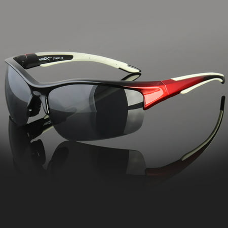 New Vertex Large Fishing Golf Designer Sport Half Rim Sunglasses For (Expensive Designer Sunglasses)