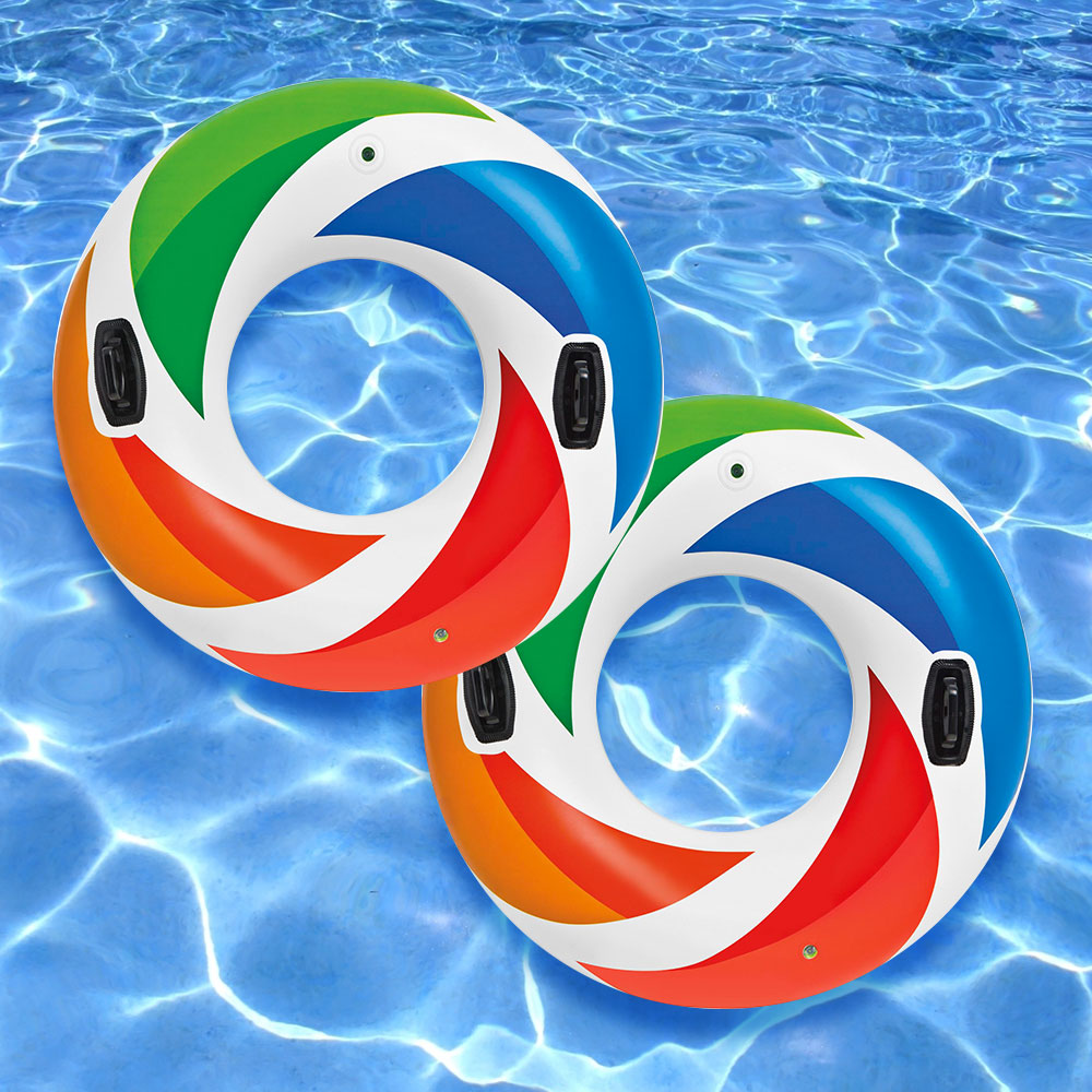 Intex Color Whirl Tube for Swimming Pools, Pack of 2