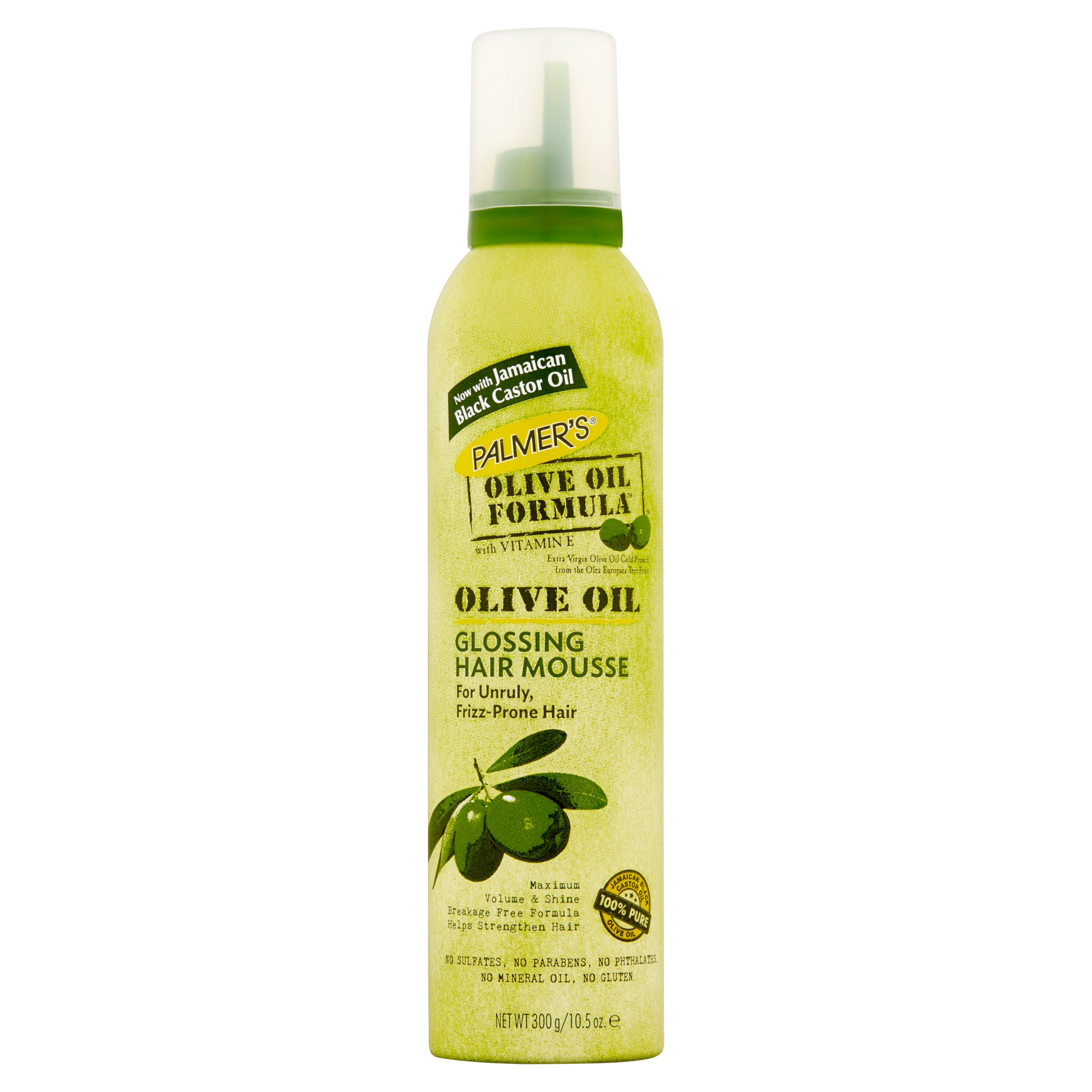 Palmer's Olive Oil Formula Glossing Hair Mousse, 10.5 oz