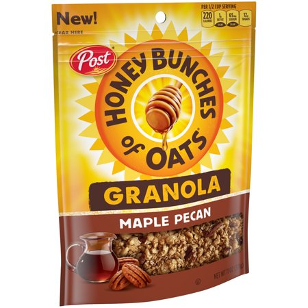 - (3 Pack) Post Honey Bunches of Oats Granola, Maple Pecan, 11 Oz