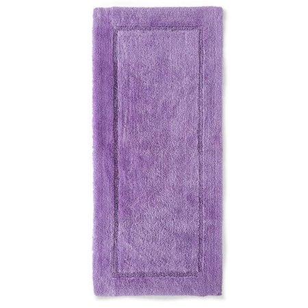Threshold Plush French Lilac Purple Botanic Bath Rug Skid