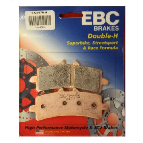 EBC Double-H Sintered Brake Pads Front (2 Sets Required) Fits 10-12 Ducati Hypermotard 1100 EVO