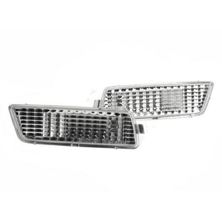 (06-09 VW MK5 RABBIT/GTI/JETTA FRONT BUMPER SIDE MARKER LIGHTS - CRYSTAL CLEAR)