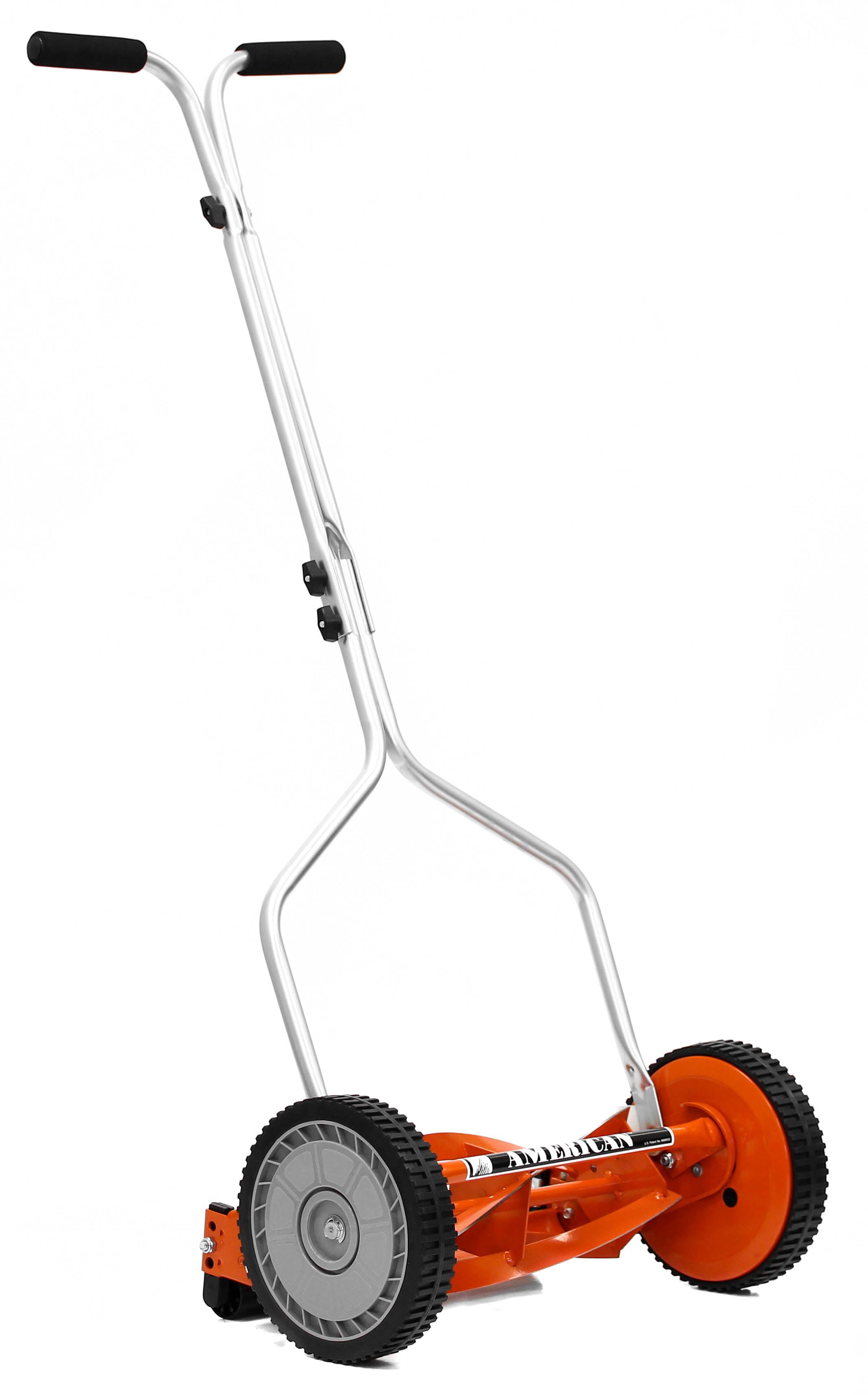 American Lawn Mower 1204-14 14-Inch 4-Blade Push Reel Lawn Mower -  Walmart com