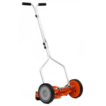 4 Steel Mower - American Lawn Mower 1204-14 14-Inch 4-Blade Push Reel Lawn Mower