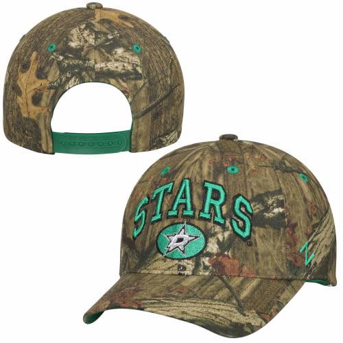 Dallas Stars Zephyr Sport Snap Adjustable Hat - Mossy Oak Camo - OSFA