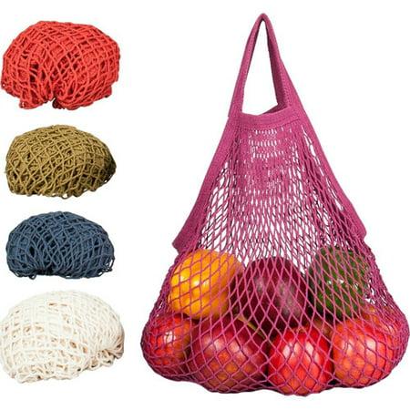 Ecobags Reusable Grocery Earthtone Cotton Market Tote Bag - 1 Ea