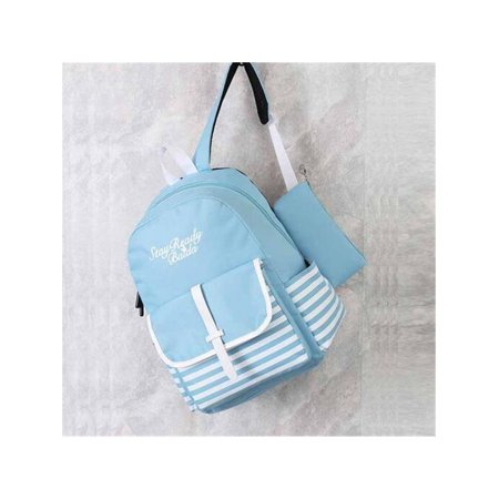 3f55c8fa5f 2pcs Women Backpack Shoulder Bag Cute School Bookbag Purse Teenager Satchel  - Walmart.com