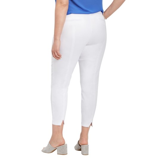 f92f3b0dc8a maurices - Plus Size White Bengaline Skinny Ankle Pant - Walmart.com