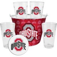 Boelter Brands NCAA Gift Bucket Set, Ohio State University Buckeyes