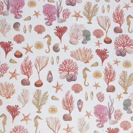 Jillson & Roberts Gift Wrap, Coral Reef, 5' x 30