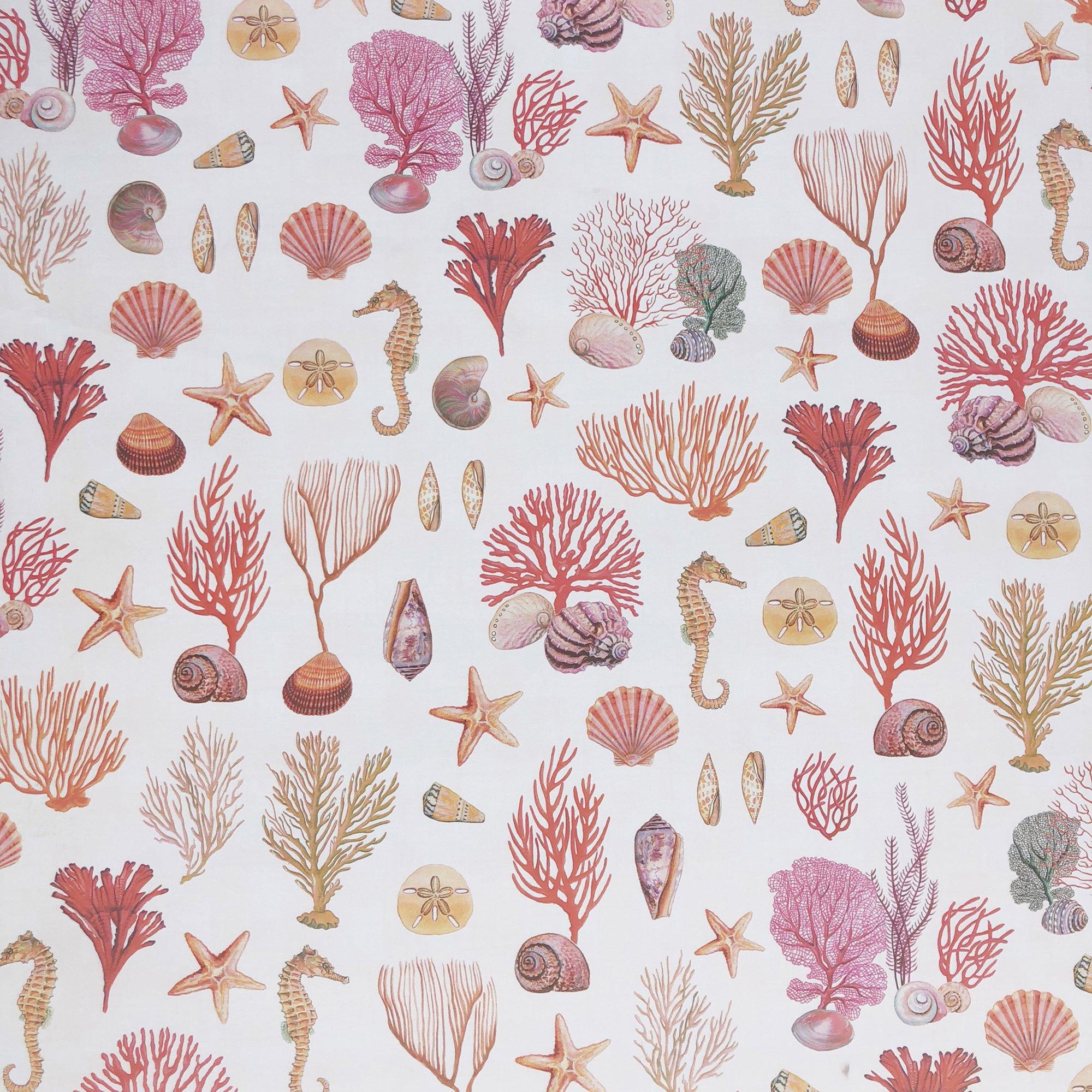 "Jillson & Roberts Gift Wrap, Coral Reef, 5' x 30"" Rolls (8 Pcs)"