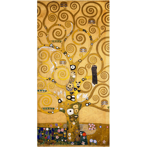"Trademark Fine Art ""Tree of Life (Soclet Frieze)"" 1905 Canvas Art by Gustav Klimt"