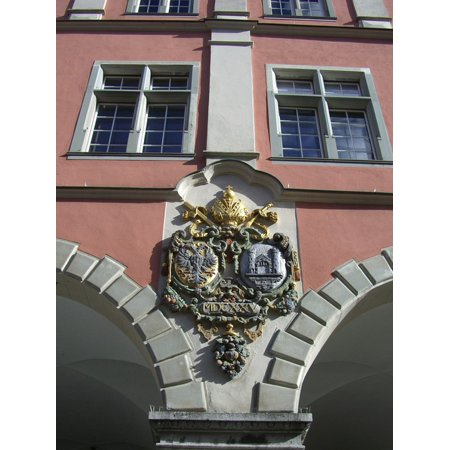 Framed Art for Your Wall Archway Ravensburg Facade Old Theater Early Baroque 10x13 Frame