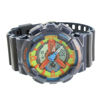 mens sports watches navy blue shock resistant analog