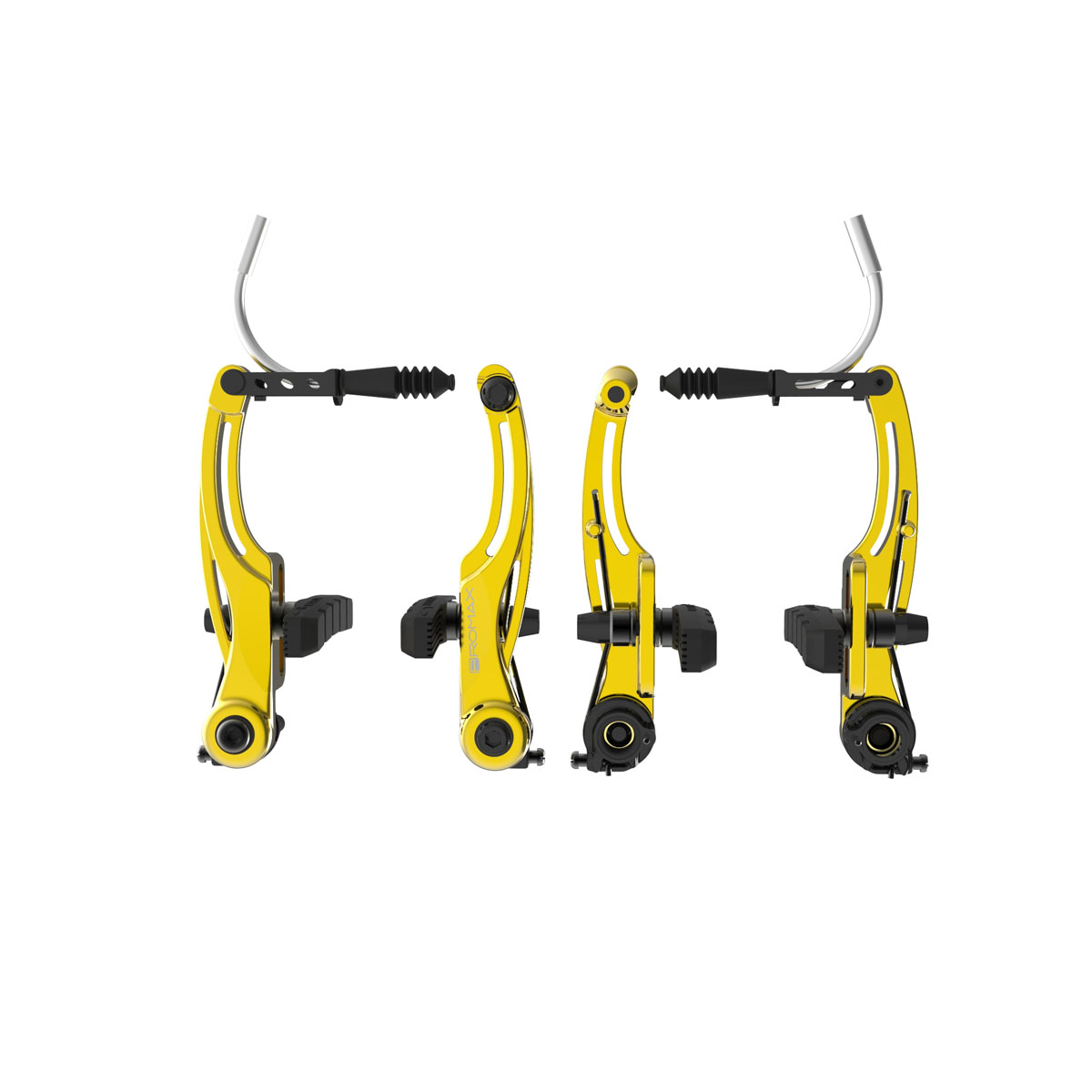 Promax P-1 Linear Pull Brakes 108mm Reach Gold