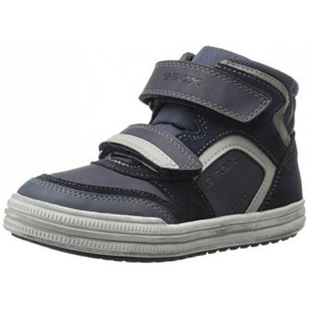 newest a9afb 9091b Geox Boys' Jr Elvis 32-K Sneaker, Navy/Grey, 30 EU(12 M US ...