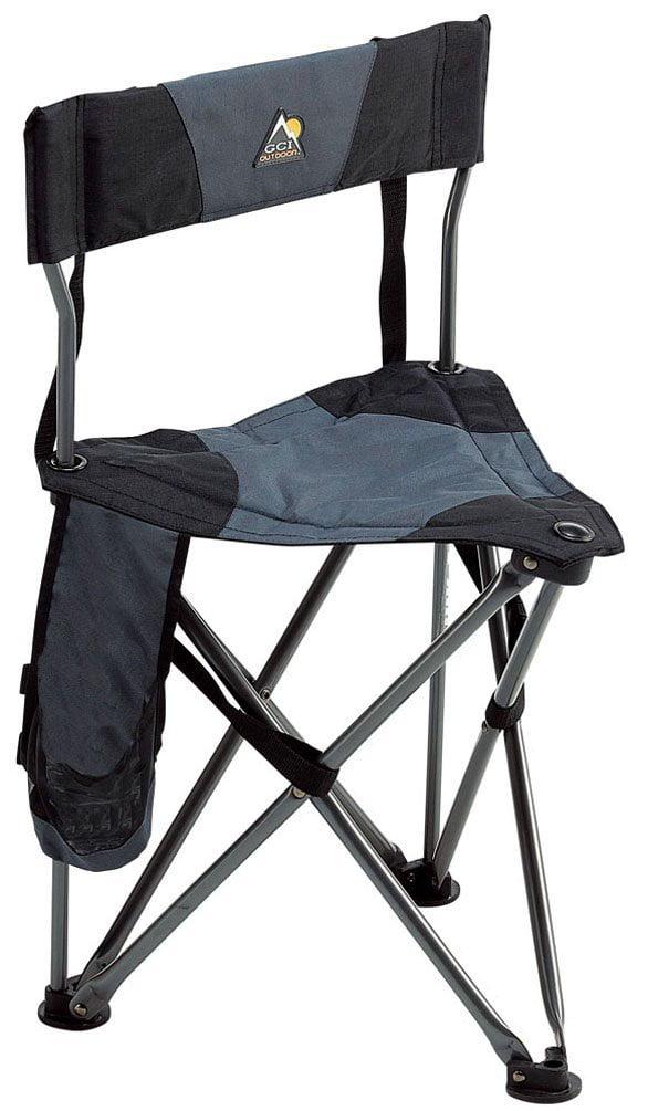 sc 1 st  Walmart & GCI Outdoor Quik-E-Seat Black - Walmart.com
