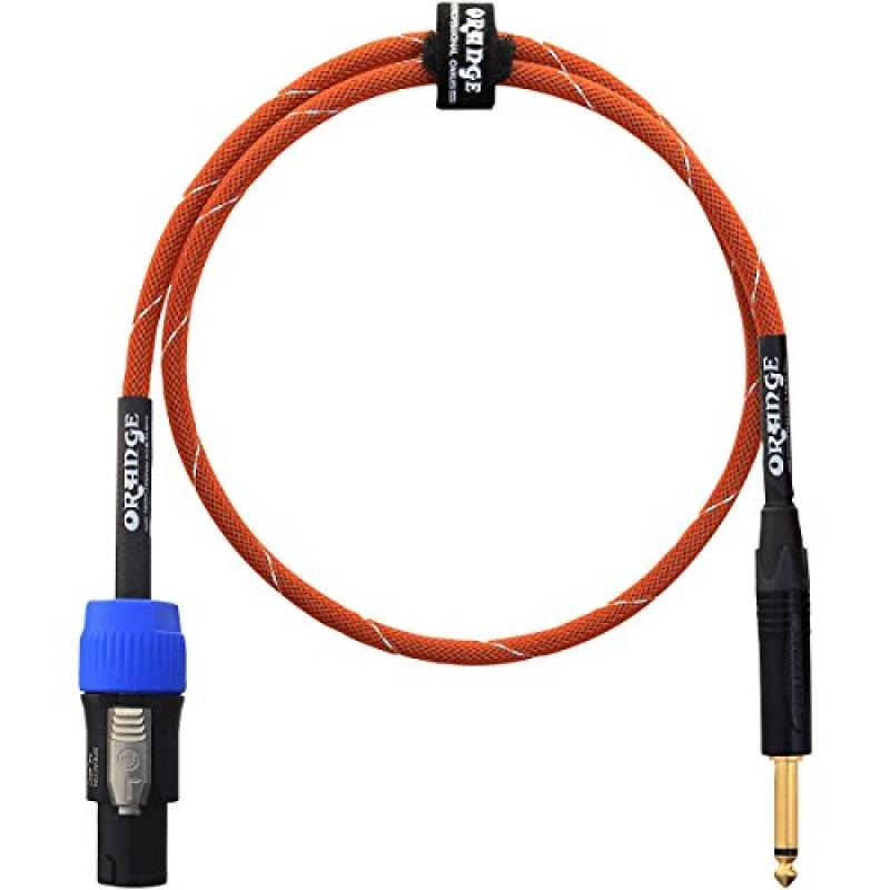 Orange CA-JS-STSP-OR-3 TS-Speakon Speaker Cable - 3'
