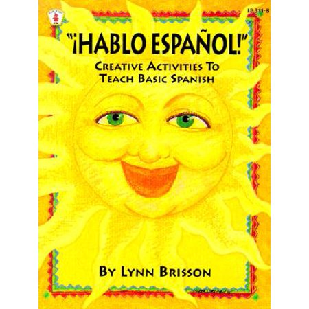 Hablo Espanol! : Creative Activities to Teach Basic Spanish - Spanish Halloween Activity
