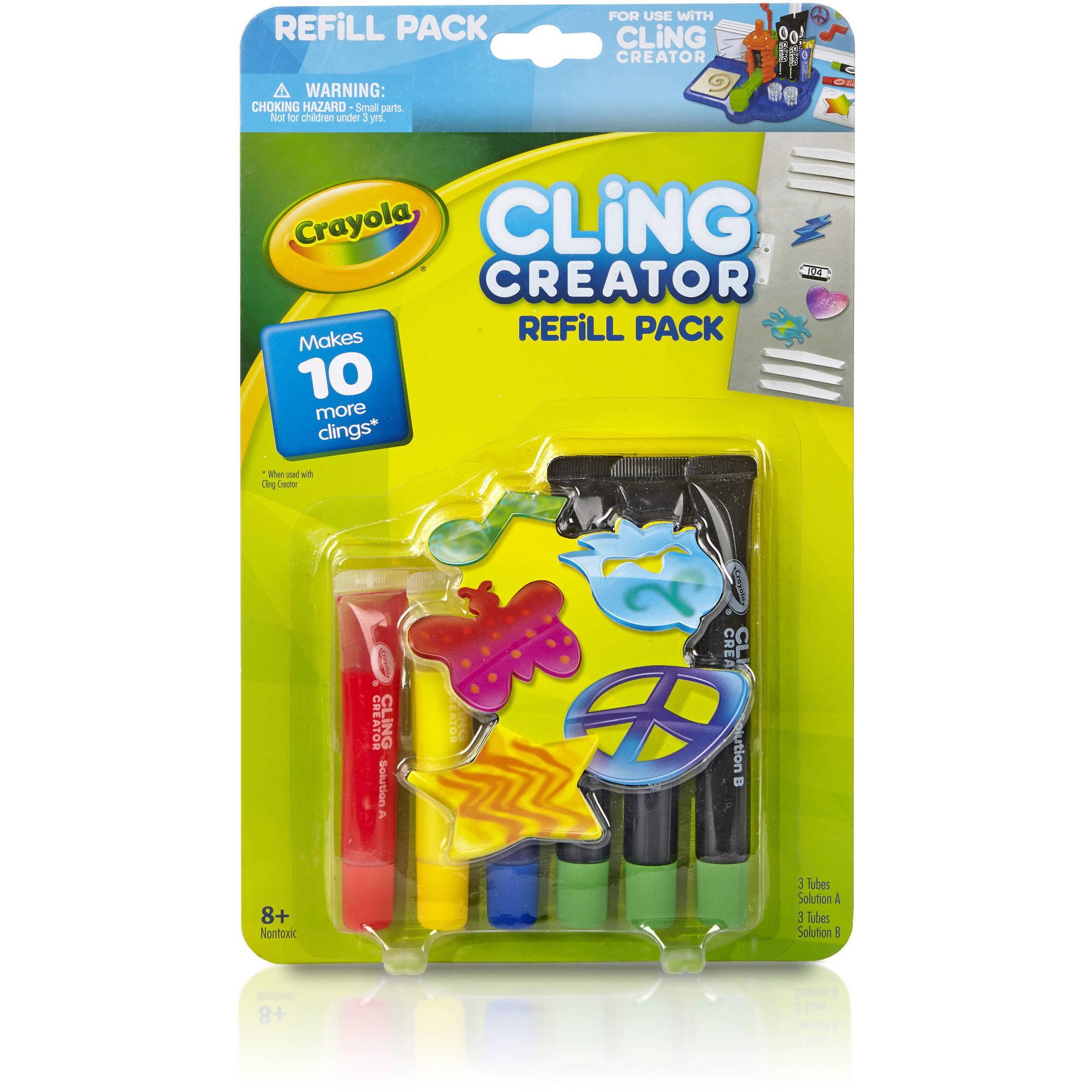 Crayola Cling Creator Refill by Crayola
