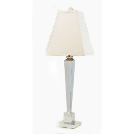 Image of AF Lighting 6672-TL Margo Single Light 22 Inch Tall Table Lamp with White Shade