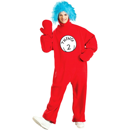 Fleece Thing 2 Adult Costume
