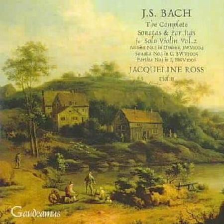 Bach Sonata Violin - J.S. BACH: THE COMPLETE SONATAS & PARTITAS FOR SOLO VIOLIN, VOL. 2