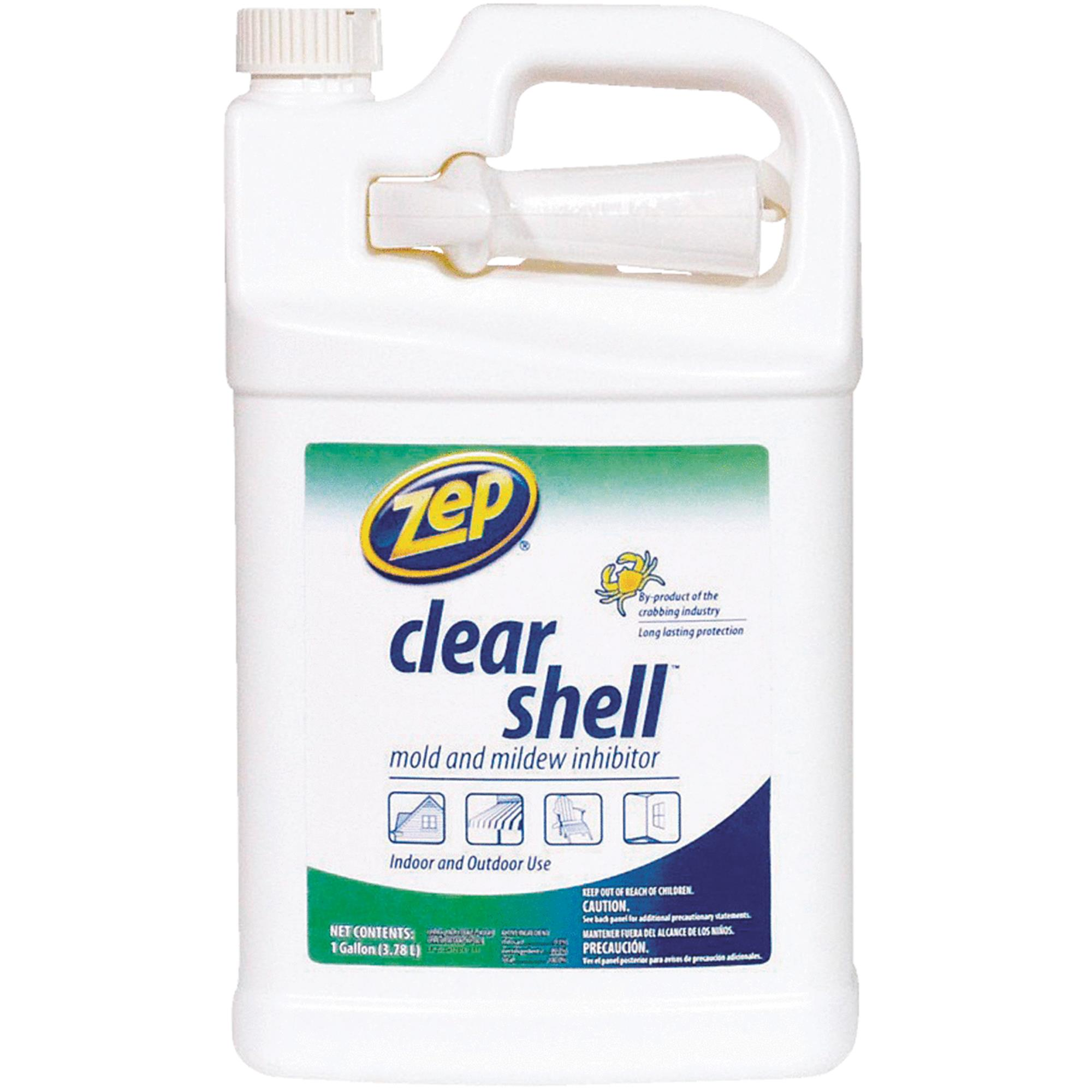 Zep Commercial Clear Shell Mold and Mildew Inhibitor, 128 oz