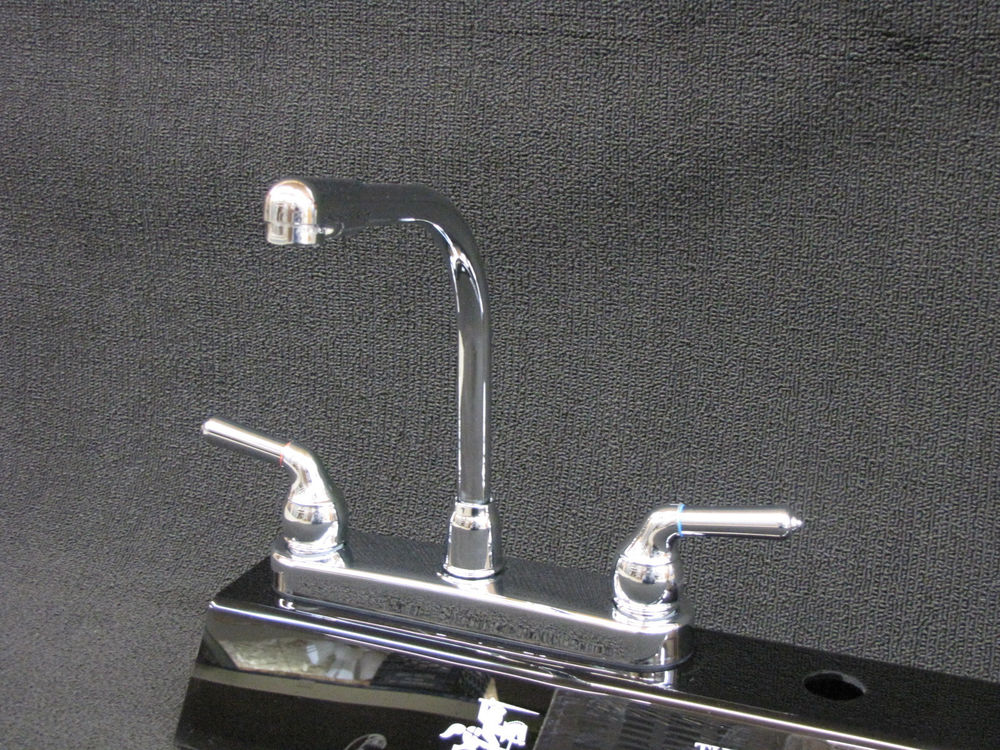 Mobile Home RV Marine Parts Bathroom Lav Sink Drain Chrome Plastic