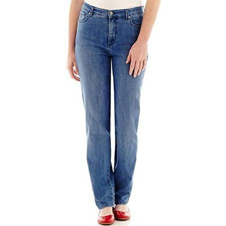 7c3325e5cdf Gloria Vanderbilt - Gloria Vanderbilt Amanda Stretch Plus Size Denim  Sparrow Wash Jeans (24W Short X 29) - Walmart.com