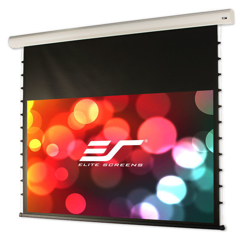 Elite Screens Starling White Electric Projection Screen