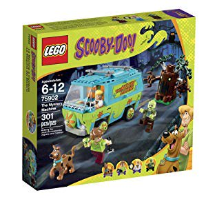 LEGO Scooby-Doo 75902 the Mystery Machine Building Kit - Lego Halloween Scooby Doo
