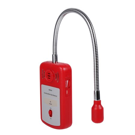 (Ashata 1Pc Portable Combustible Natural Gas Leak Detector Tester with Sound Alarm & Light Flash New, Gas Alarm, Combustible Gas Detector)