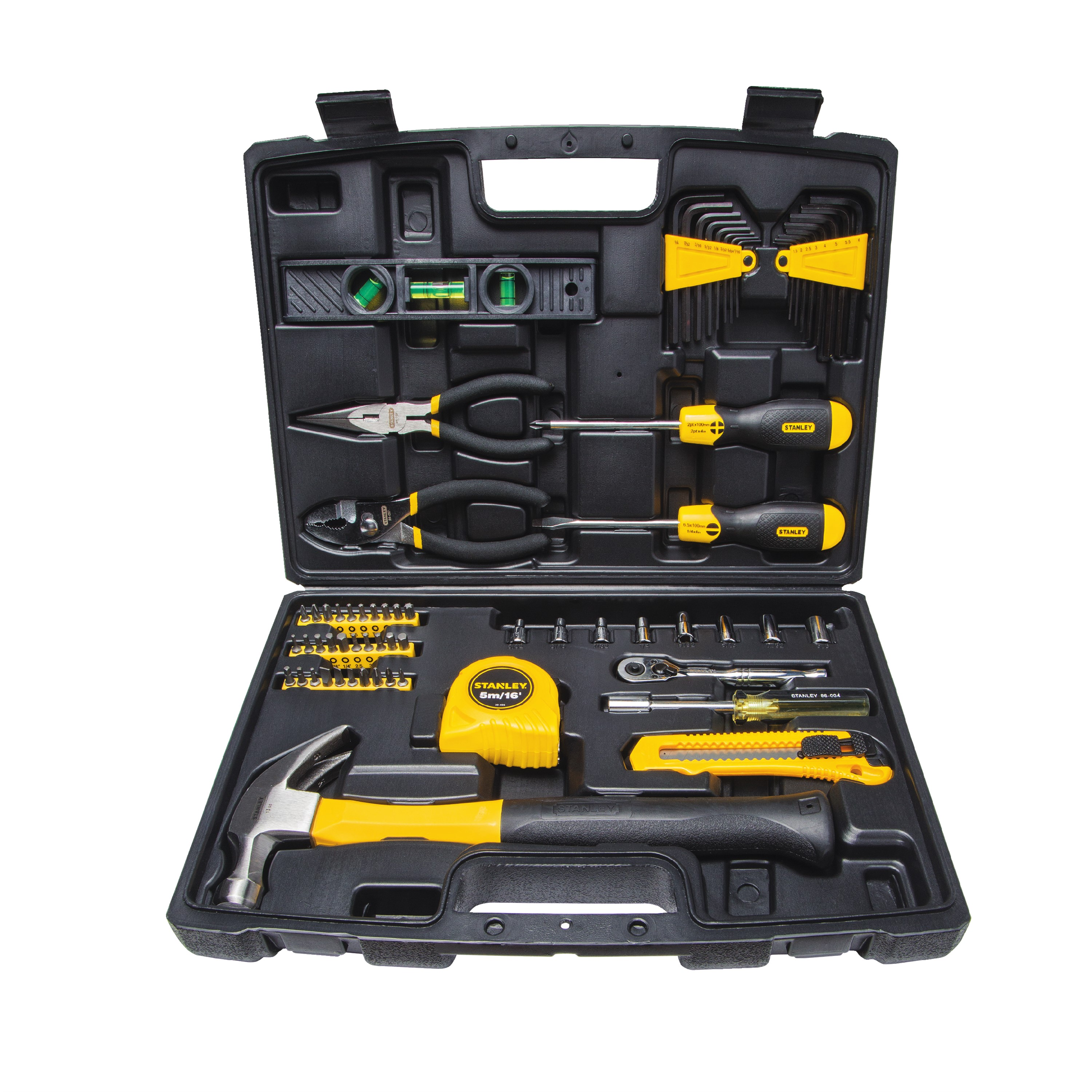 STANLEY 94-248 Homeowner's 65-Piece DIY Tool Kit