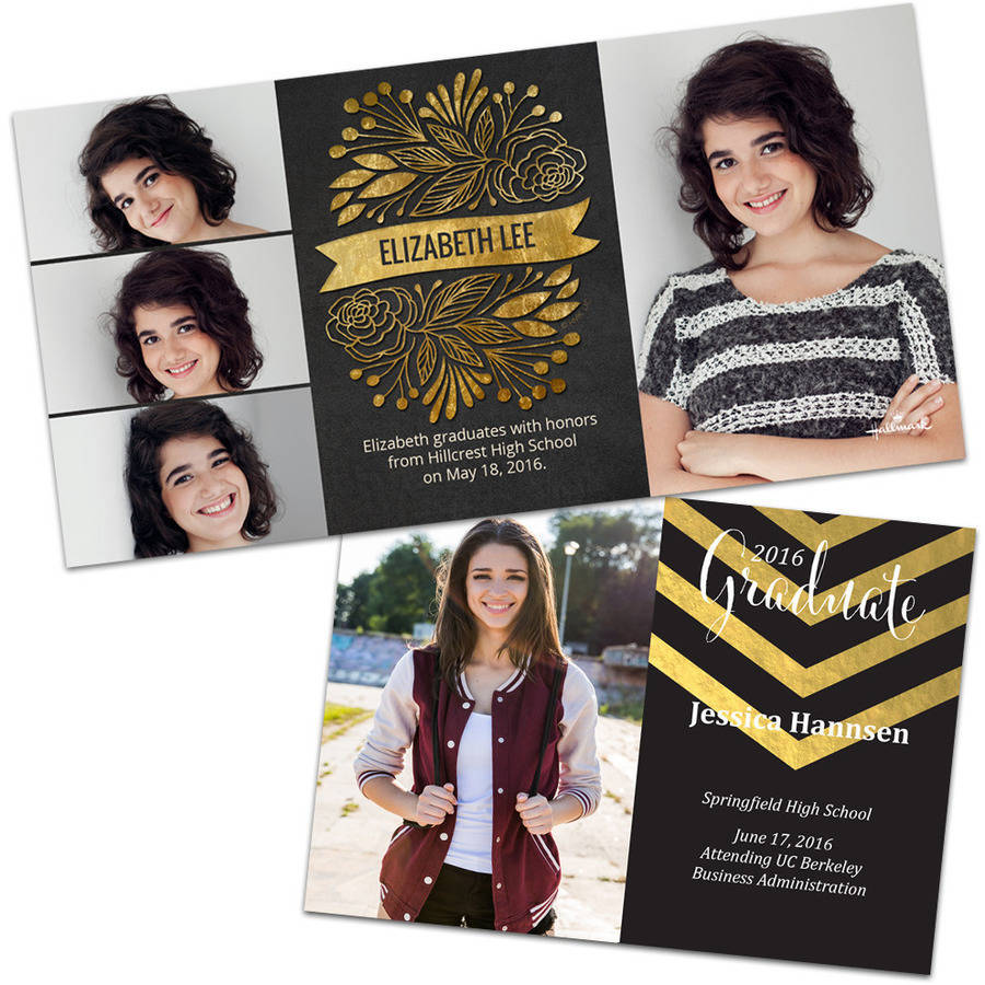 Photo Graduation Cards