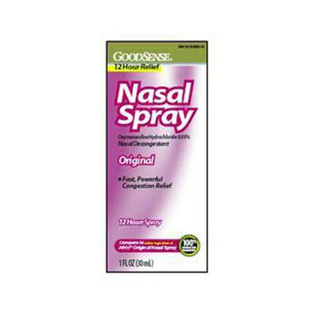 GoodSense Original Nasal Spray 1 oz., 0.05% Oxymetazoline Hydrochloride-1