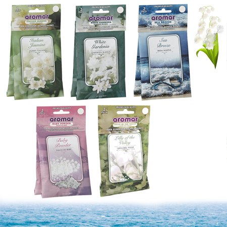 10Pc Scented Fragrance Sachet Pouch Wardrobe Home Drawer Perfume Bag Party Favor