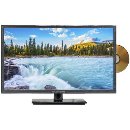 "Sceptre 24"" Class FHD (1080P) LED TV with Built-in DVD Player (E246BD-F)"