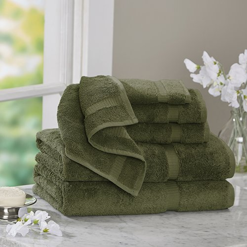 Bare Cotton Luxury 6 Piece Turkish Cotton Towel Set by Bare Cotton