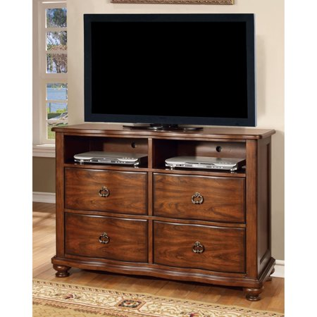 Furniture of America Meveena 4 Drawer Media Chest