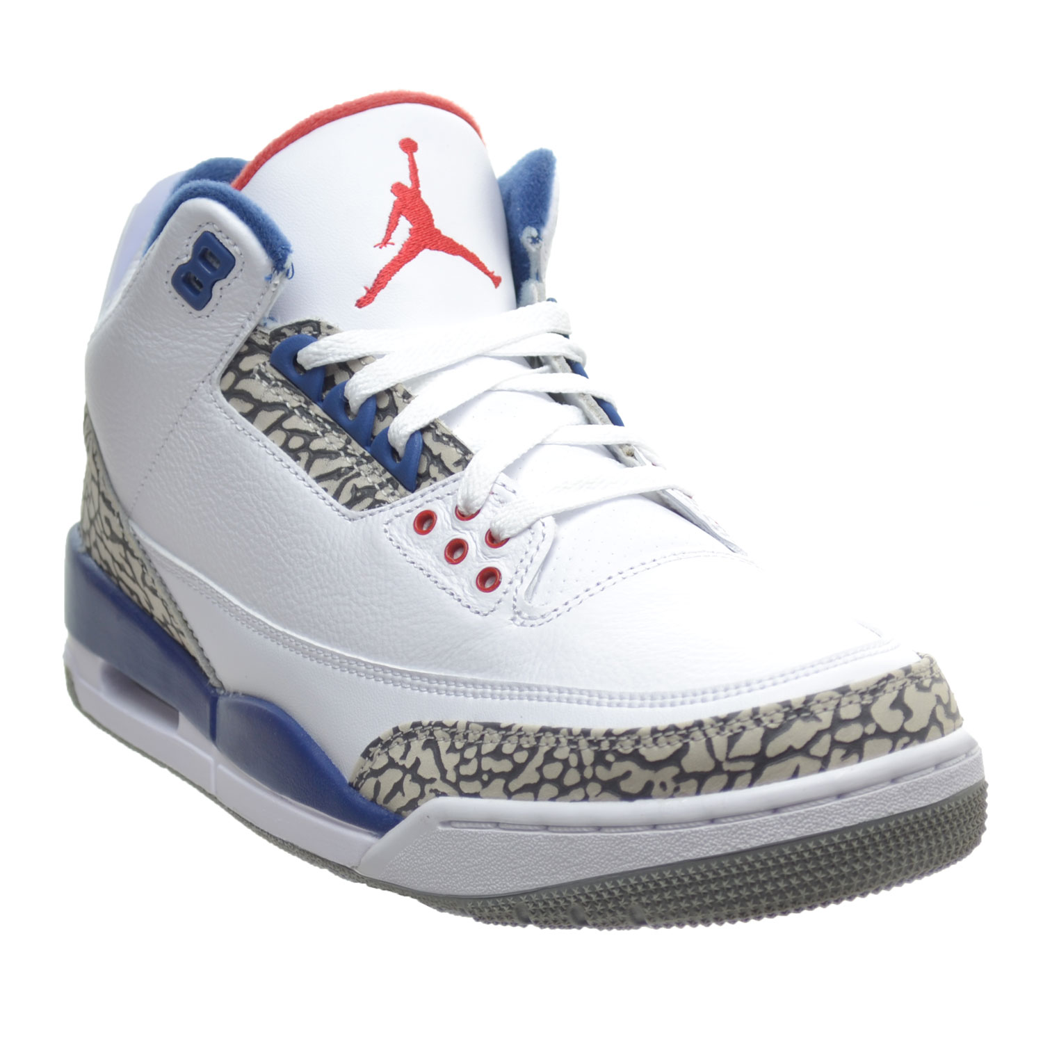 508f4886819481 Jordan - Air Jordan 3 Retro OG Men s Shoes White Fire Red True Blue  854262-106 - Walmart.com