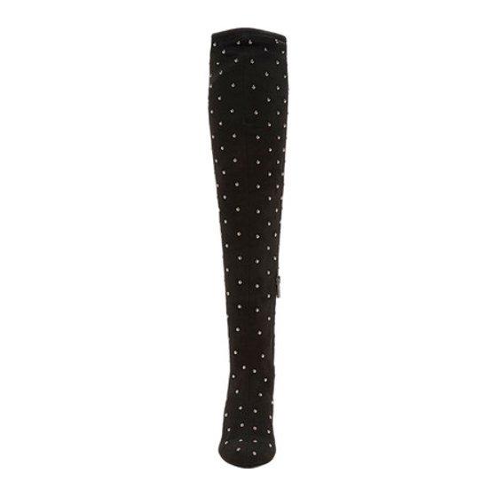 ded7740ca5e Jessica Simpson - Women s Jessica Simpson Bressy Knee High Boot Black  Stretch Microsuede 6 M - Walmart.com