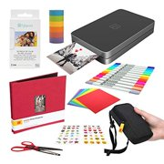 Lifeprint 2x3 Portable Photo and Video Printer (Black) Scrapbook Edition