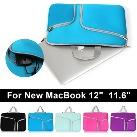 "Laptop sleeve Case Carry Bag Notebook For Macbook Mac Air/Pro/Retina 12"" 11.6"" Wheeled Notebook Case"