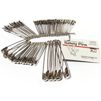 CLI, LEO83450, Safety Pins, 50 / Pack